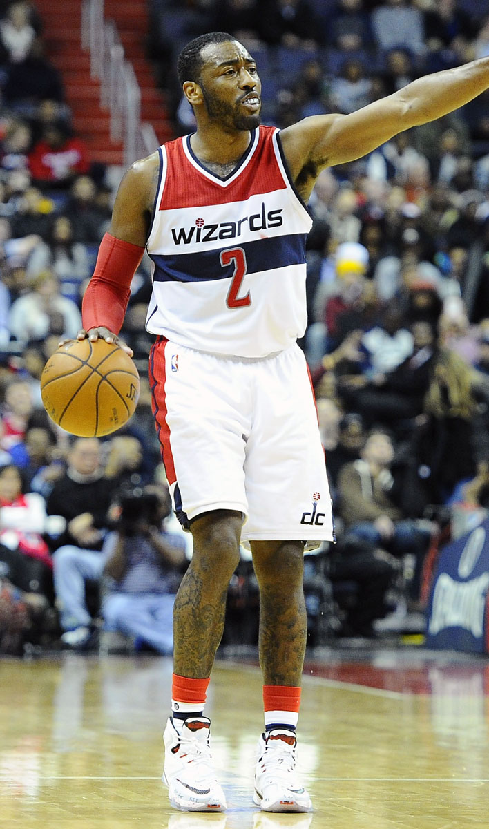 John Wall wearing the 'Horror Flick' Nike LeBron 13 (4)