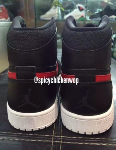 f97b15e86a5db5 Air Jordan I 1 Rare Air Black Red 332550-012 (5)