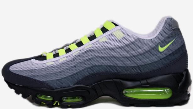Nike Air Max '95 Premium Tape QS Cool Grey/Volt-Black-Metallic Silver