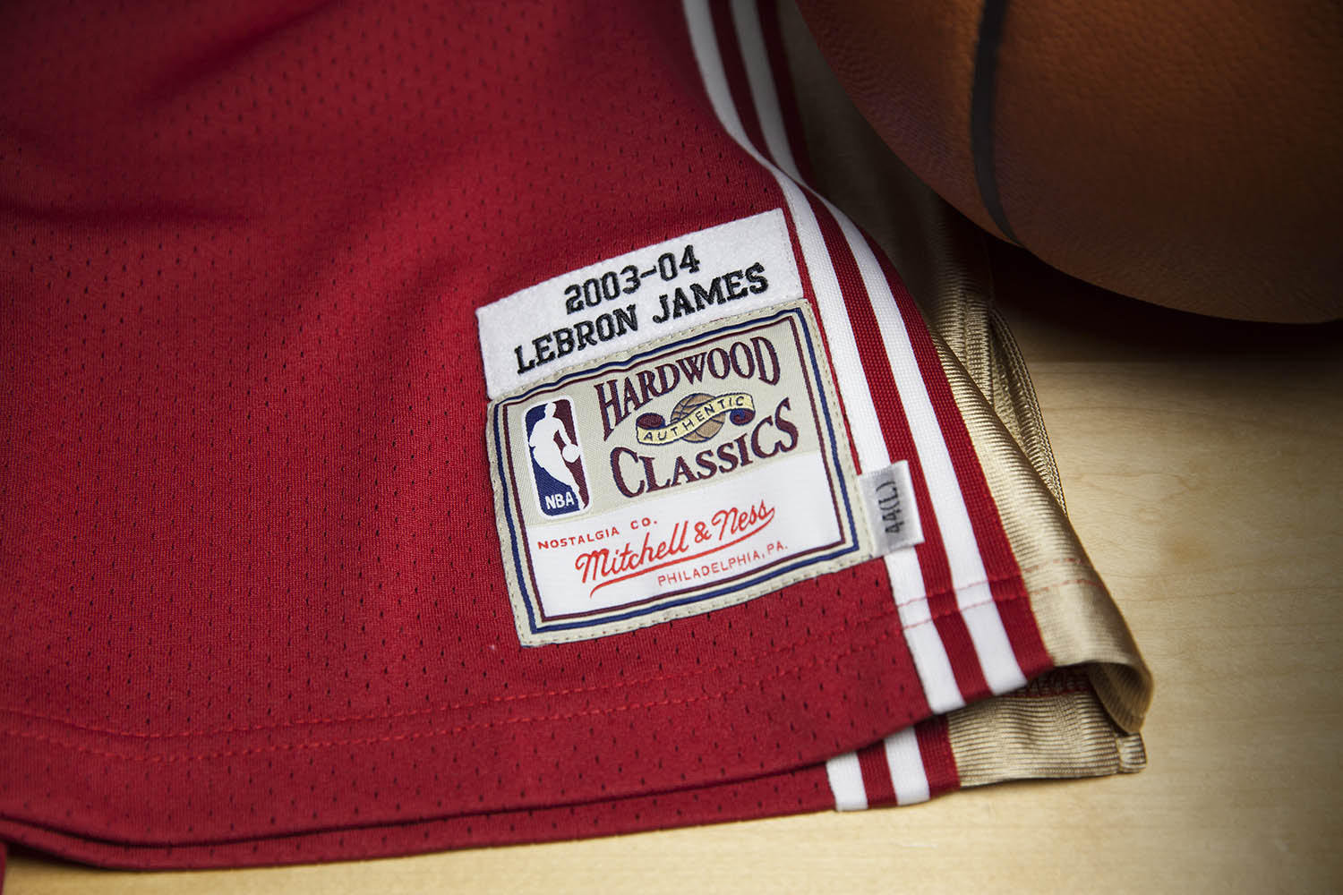 Mitchell & Ness LeBron James Rookie Jersey Tag