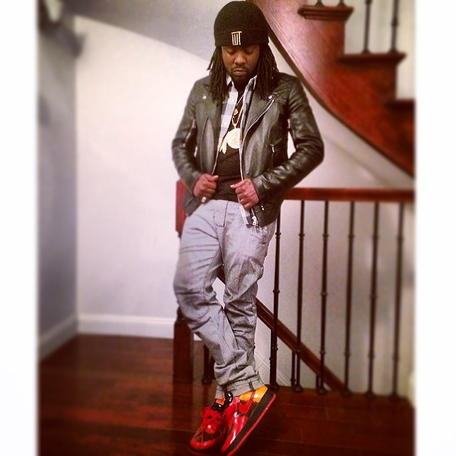 Wale wearing Nike Air Force 1 Chamber of Fear Hater