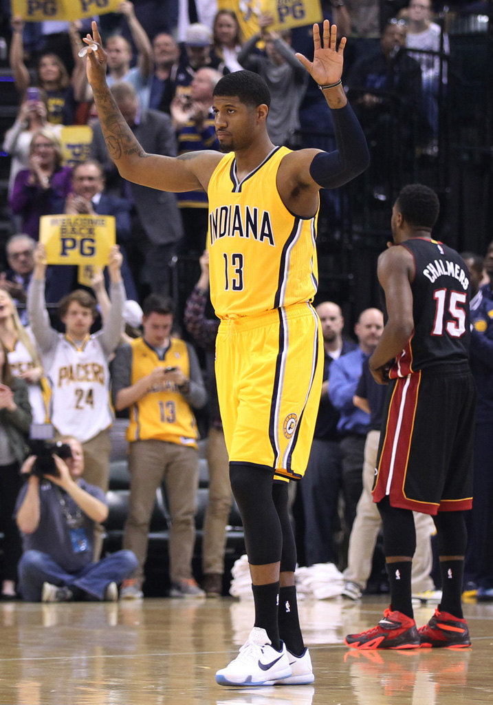 31b69de5f4b SoleWatch  Paul George Returns Wearing the Nike Kobe 10