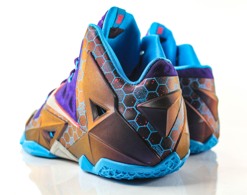 Nike LeBron 11 Summit Lake Hornets 616175-500 (4)