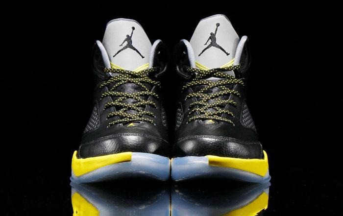 8329b0302473 Air Jordan Flight Remix Black Vibrant Yellow-Cool Grey Release Date  679680-070