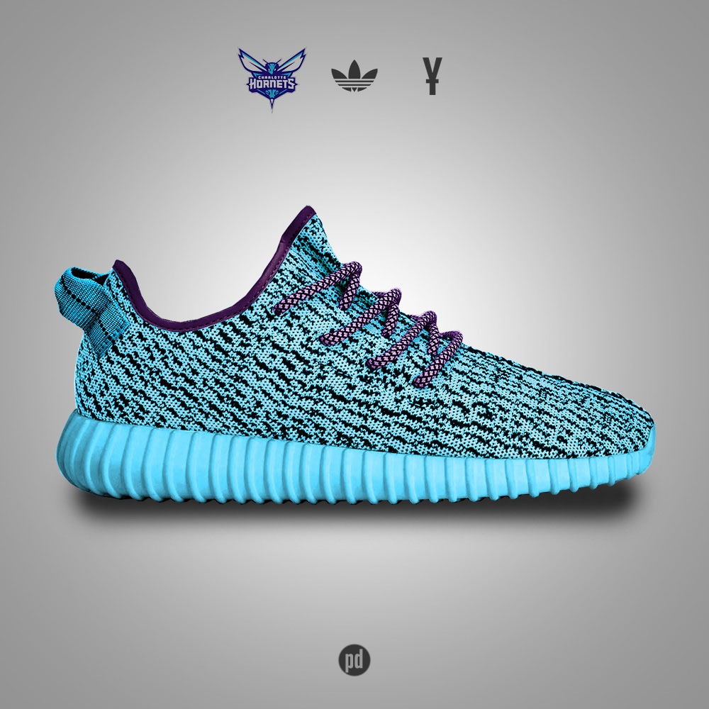 adidas Yeezy 350 Boost for the Charlotte Hornets