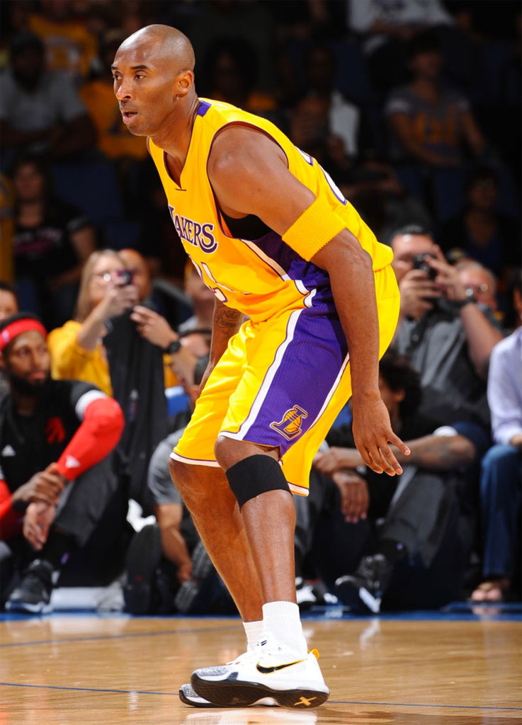 Kobe Shoes Yellow And Black