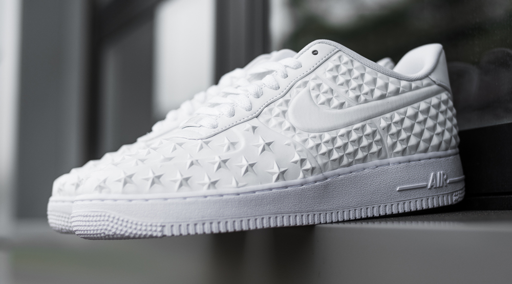A Twist on the Classic 'White on White' Nike Air Force 1