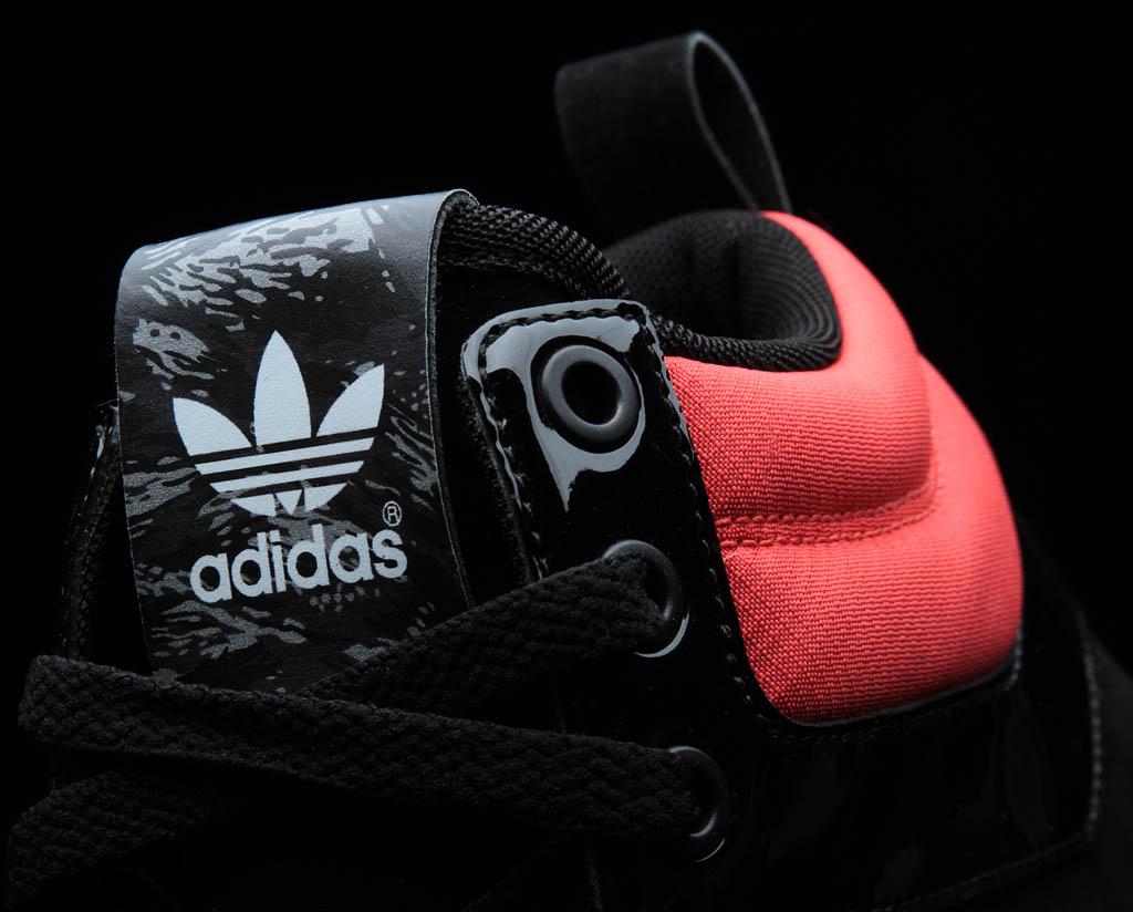 adidas Originals Camo Pack Top Court Mid Shoes Black Infrared (7) 4422878a0