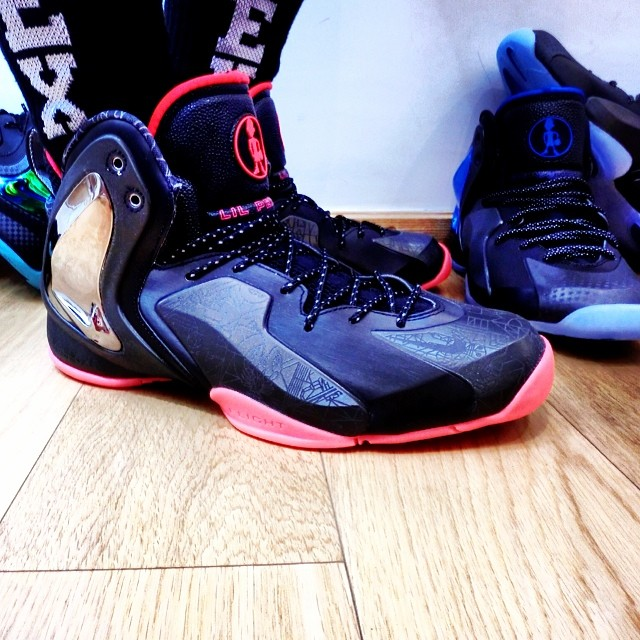 sports shoes f31f7 4e179 Nike Lil' Penny Posite 'NOLA Gumbo League' | Sole Collector