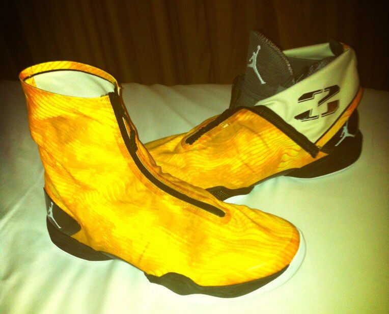 Air Jordan XX8 - Maya Moore Yellow Camo PE
