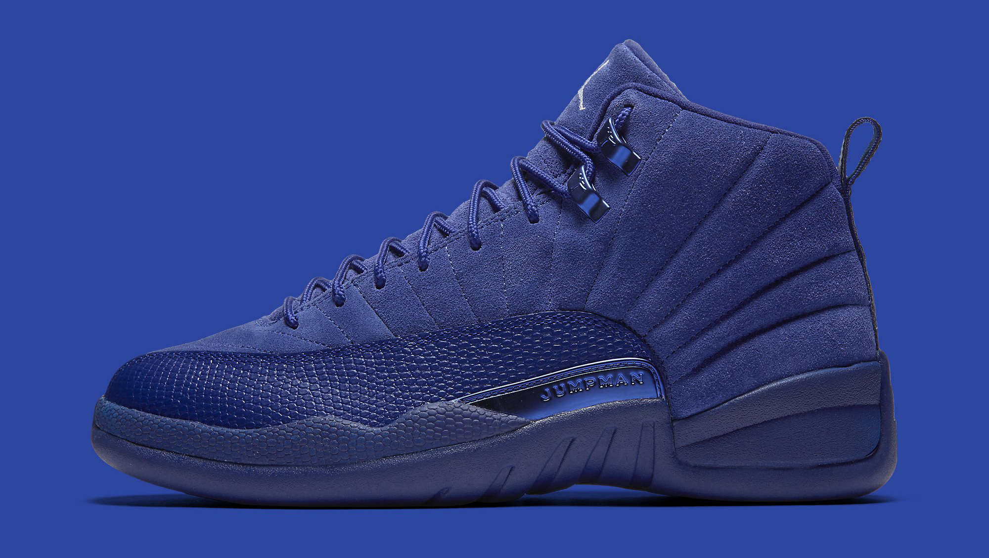 Blue Jordan 12 Profile