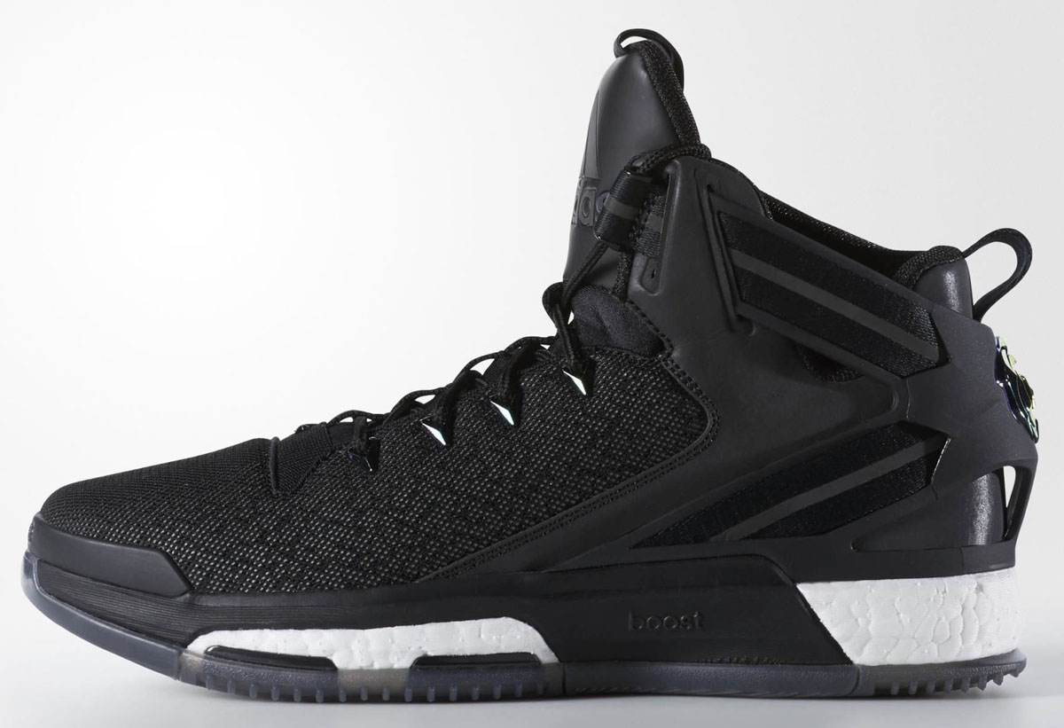 separation shoes 5d9cb 20914 adidas D Rose 6 Matte Black Reflective Release Date (1)