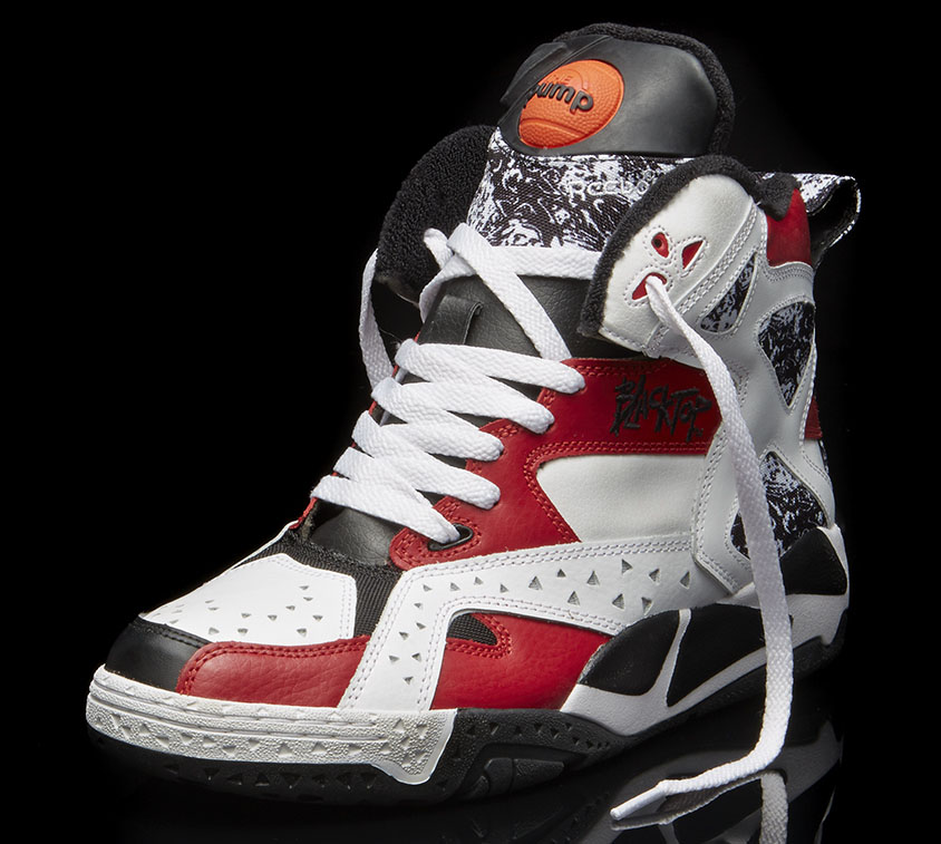 outlet store ea469 cb504 ... Reebok Blacktop Battleground Black White-Red (2) ...