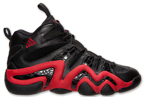 adidas Crazy 8 - Black/Red - Finish Line Exclusive (5)