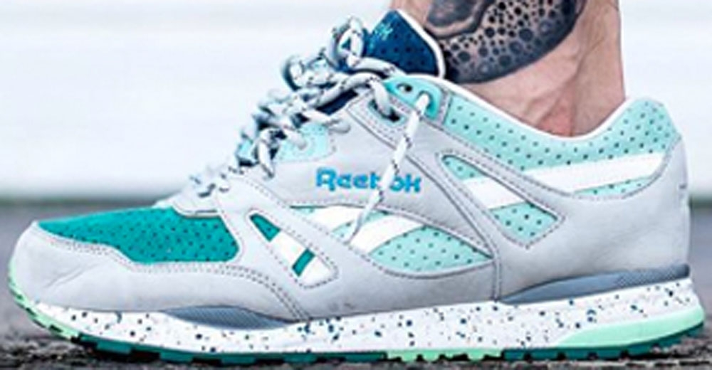 Reebok Ventilator Snowy Grey/Emerald Haze-Mint Glow