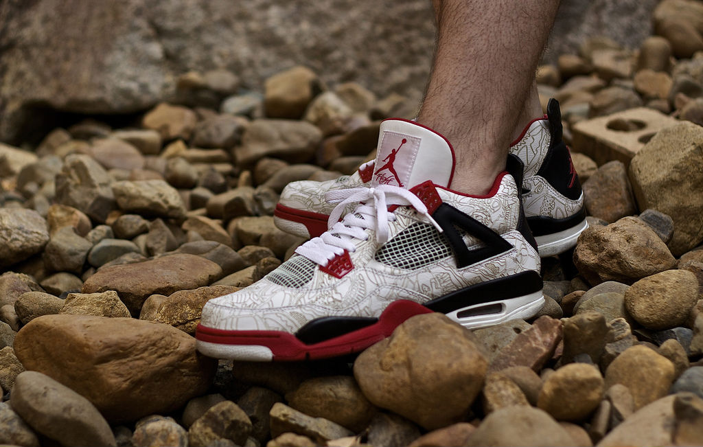 Spotlight // Forum Staff Weekly WDYWT? - 9.14.13 - Air Jordan IV 4 Retro Laser by Trav409