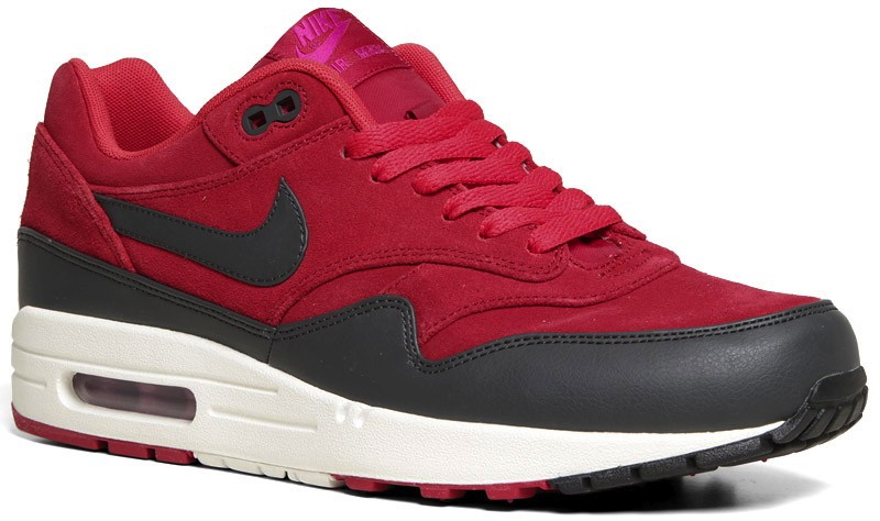 Nike Air Max 1 PRM Gym Red Anthracite | Sole Collector