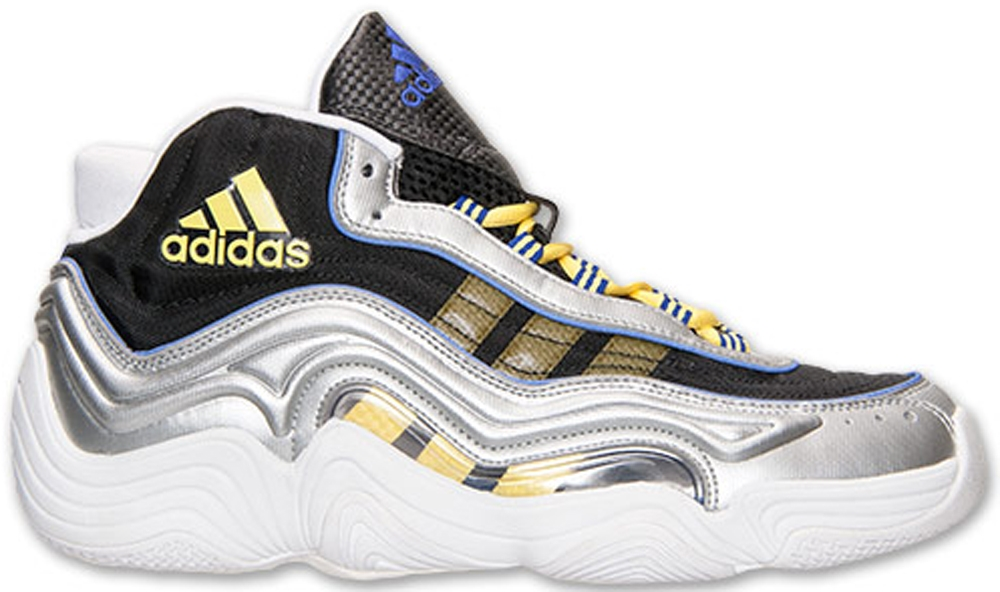adidas Crazy 2 Metallic Silver/Black-Yellow