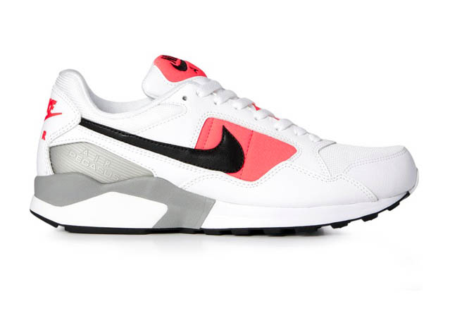 sports shoes 2b047 4571d Look for this OG-inspired colorway of the Air Pegasus 92 in White-BlackAtomic  Red-Matte Silver now at select Nike Sportswear retailers, ...