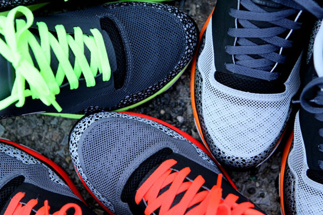 Three colorways of the NIke Lunar Safari Fuse+ are available now. 22b3c35cd005