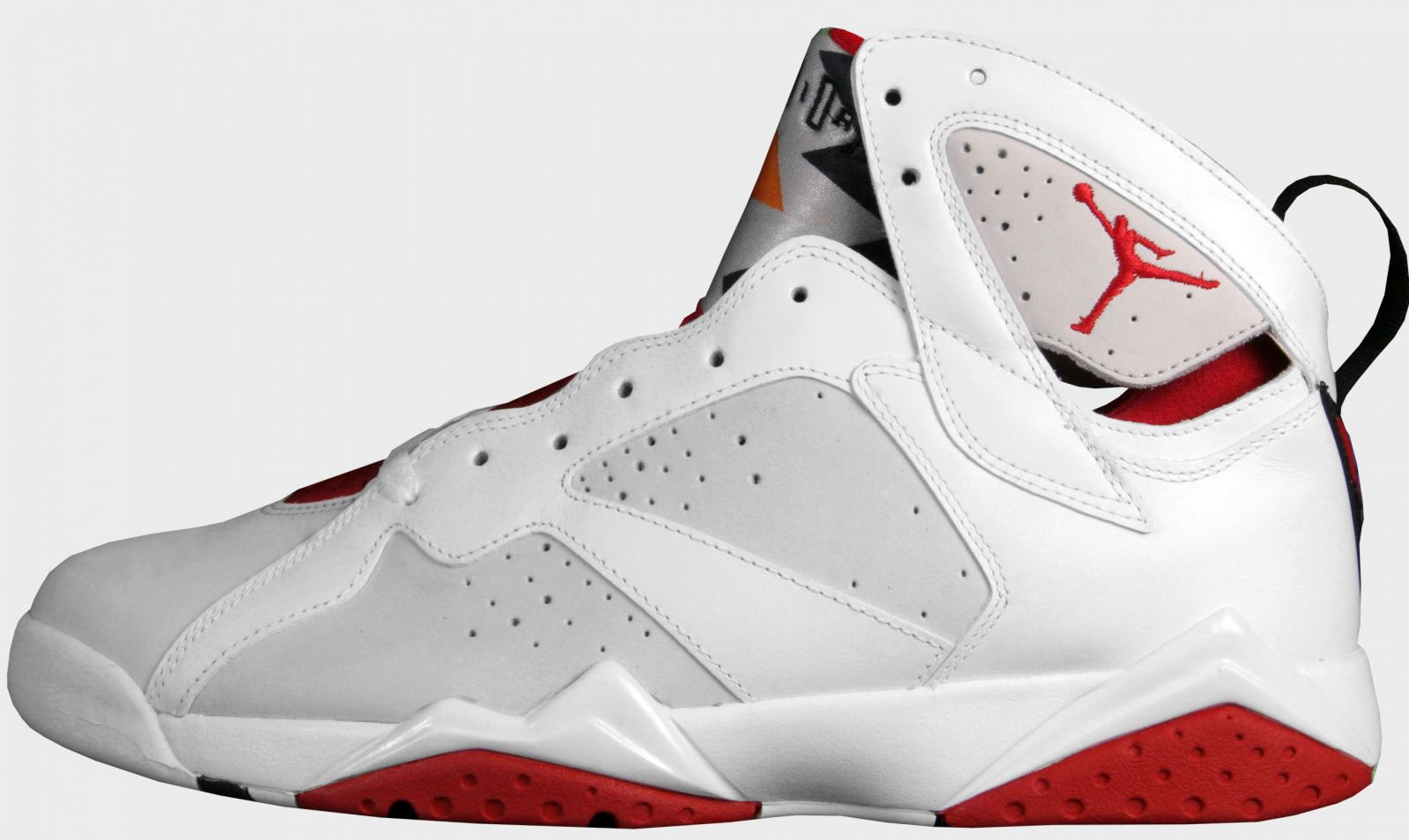 jordan shoes logo red and white triangles sign 808359