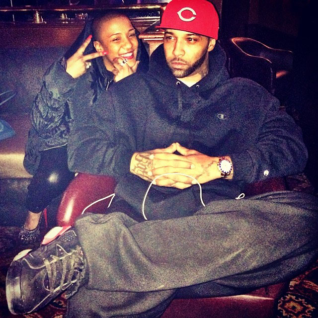 Joe Budden wearing Air Jordan 6 Infrared