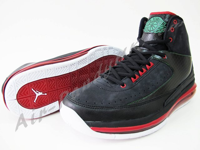 Air Jordan 2.0 - Black/Red/Green