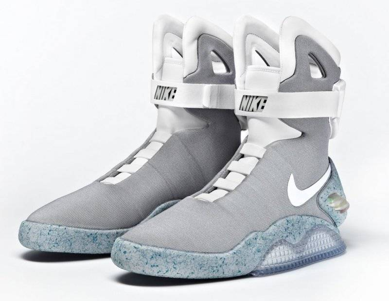 7aa412fb8a8a News  Fifth Round of Nike MAG Back to the Future Shoe Auctions Raise ...