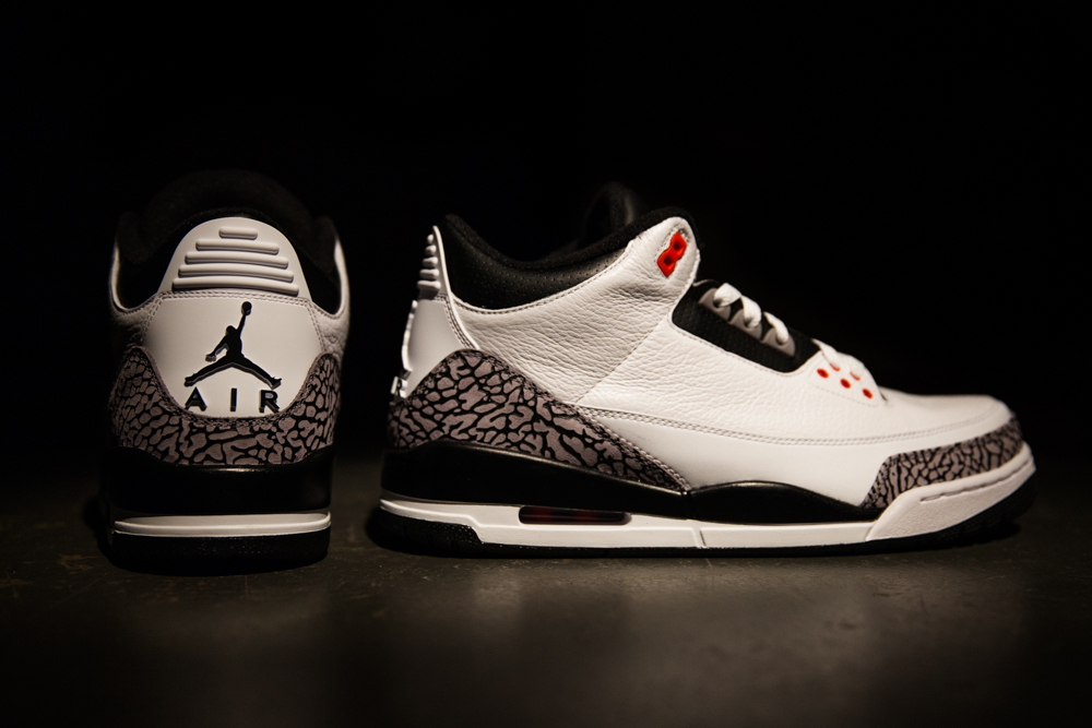 hot sale online f6e09 06a98 Detailed Look At The 'Infrared 23' Air Jordan 3 Retro | Sole ...