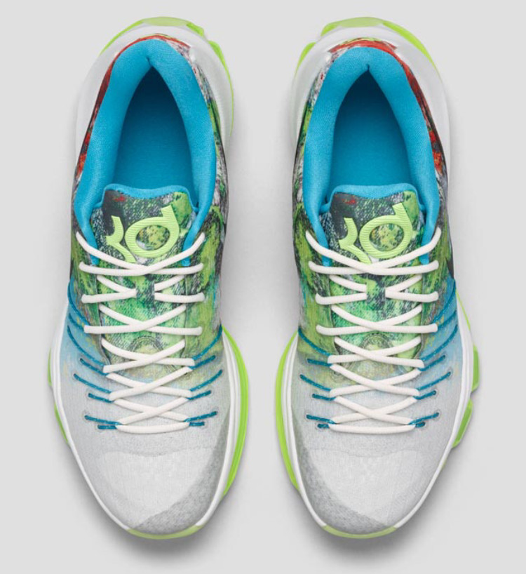 pretty nice bef4c af63f Here s a Detailed Look at the  N7  Nike KD 8s