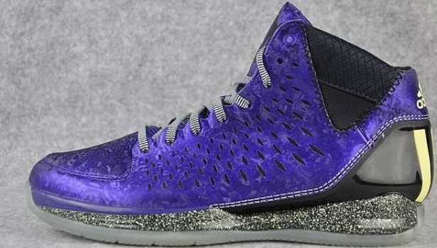 adidas Rose 3 Purple/Black-Yellow