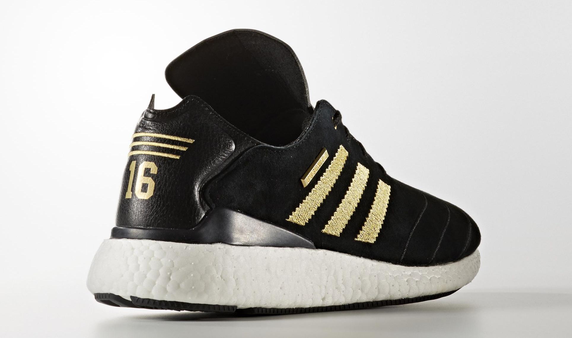 Adidas Busenitz 10 Year Anniversary Black Gold Heel