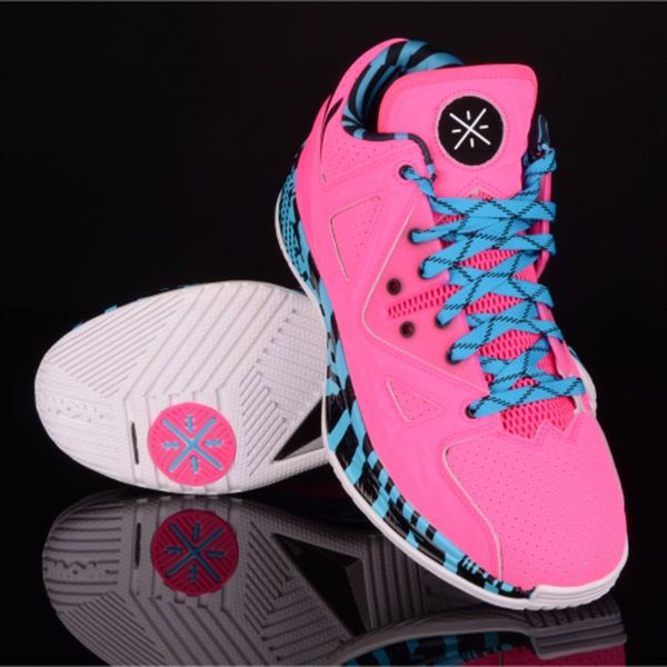 Li-Ning Way of Wade 2 Encore Flamingo (4)