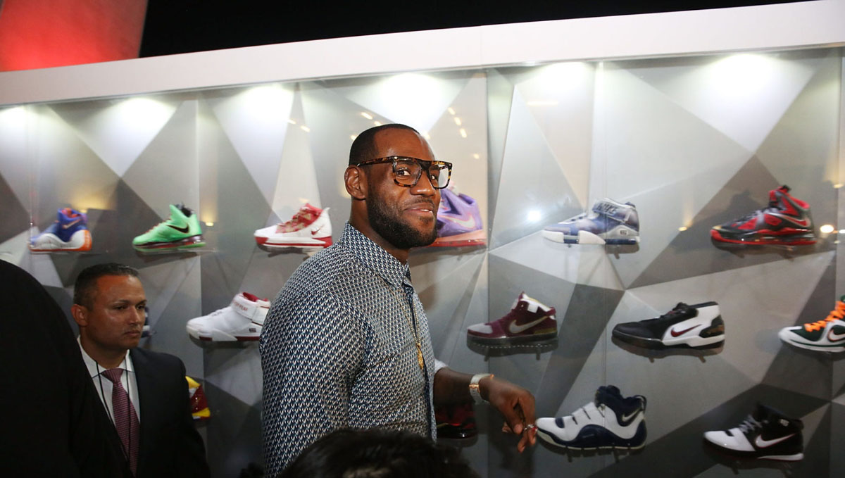 Nike LeBron James 11/11 Experience Event Photos (7)