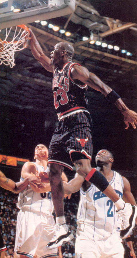 Michael Jordan wearing Air Jordan XI 11 Concord (20)