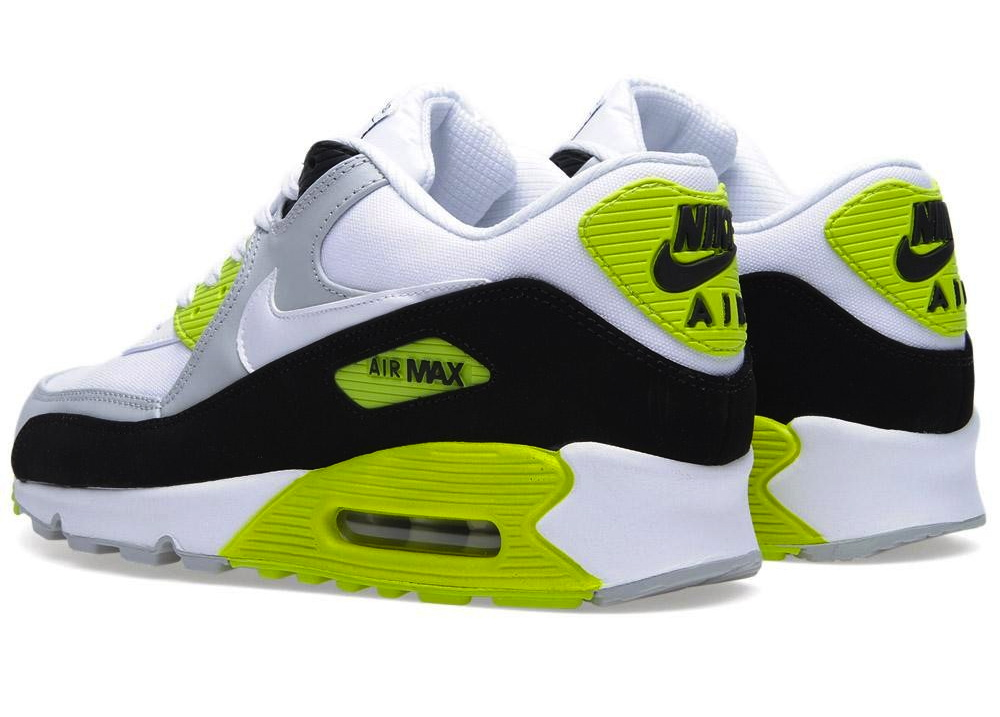 buy popular ab757 49739 nike air max 90 premium white green
