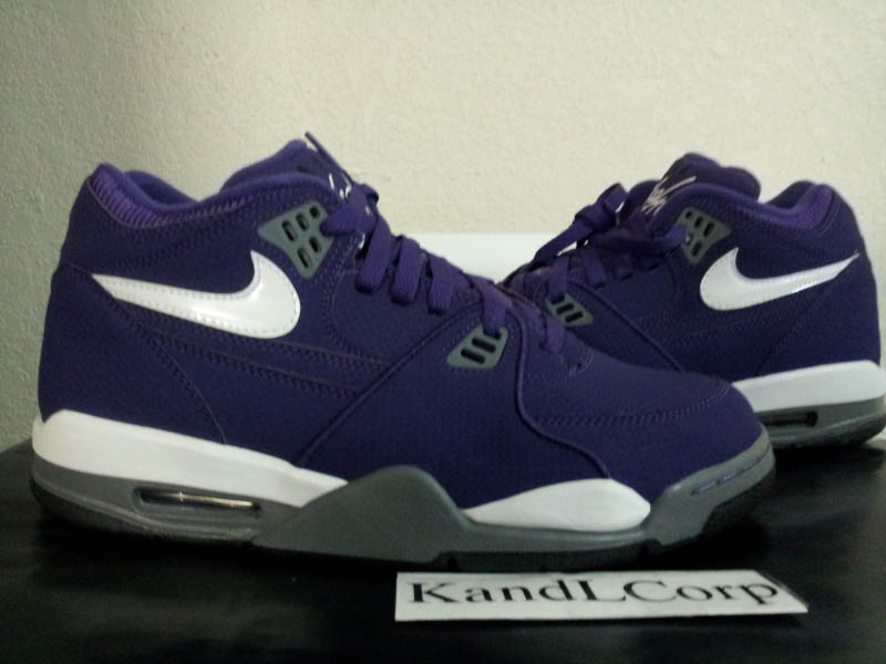 Nike Air Flight 89 HoH House of Hoops Club Purple White Cool Grey Black 513795-510 (2)
