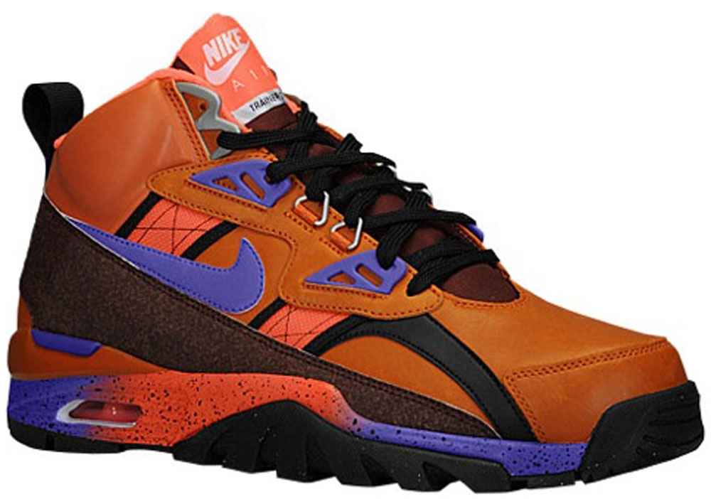 Nike Air Trainer SC High Sneakerboot Tuscan Rust/Hyper Gape-Barkroot Brown-Hyper Crimson