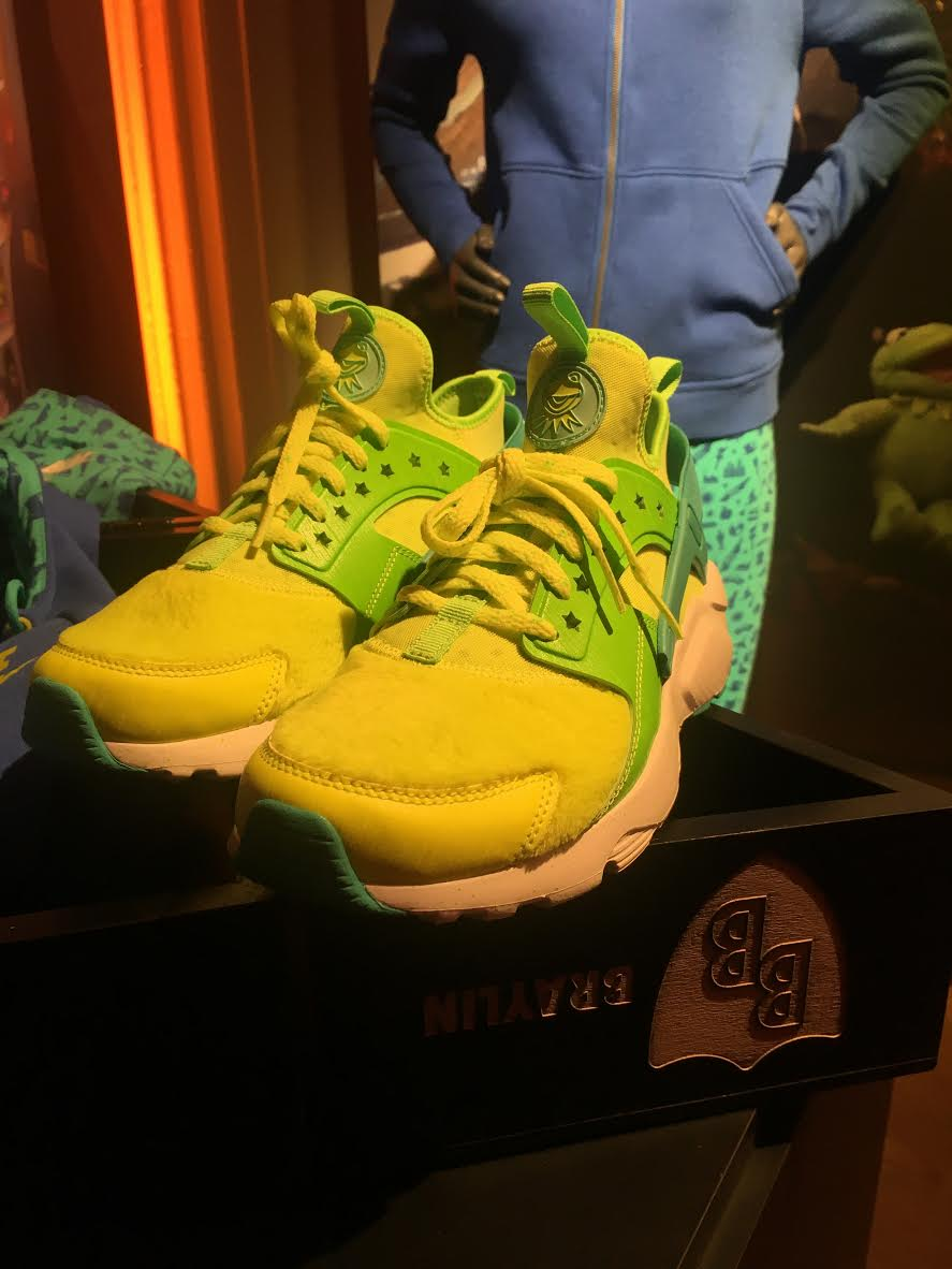 Nike Air Huarache Run Ultra Kermit by Braylin Soon Toe