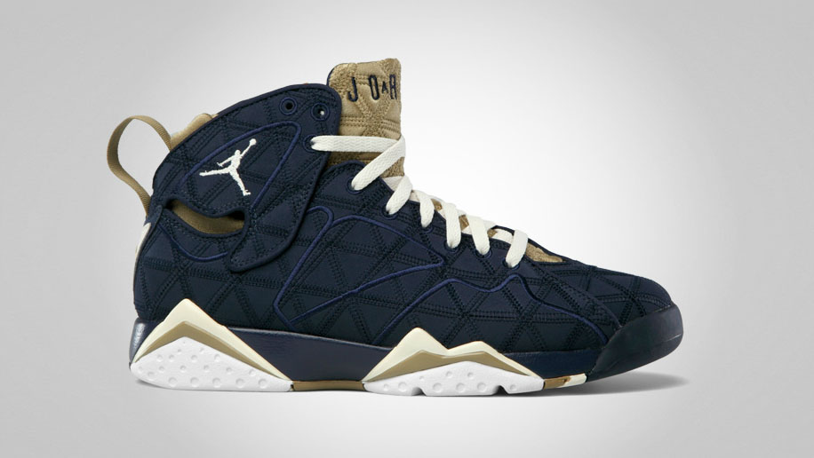 Air Jordan VII 7 Retro Obsidian Natural Filbert White 543560-415 (1)