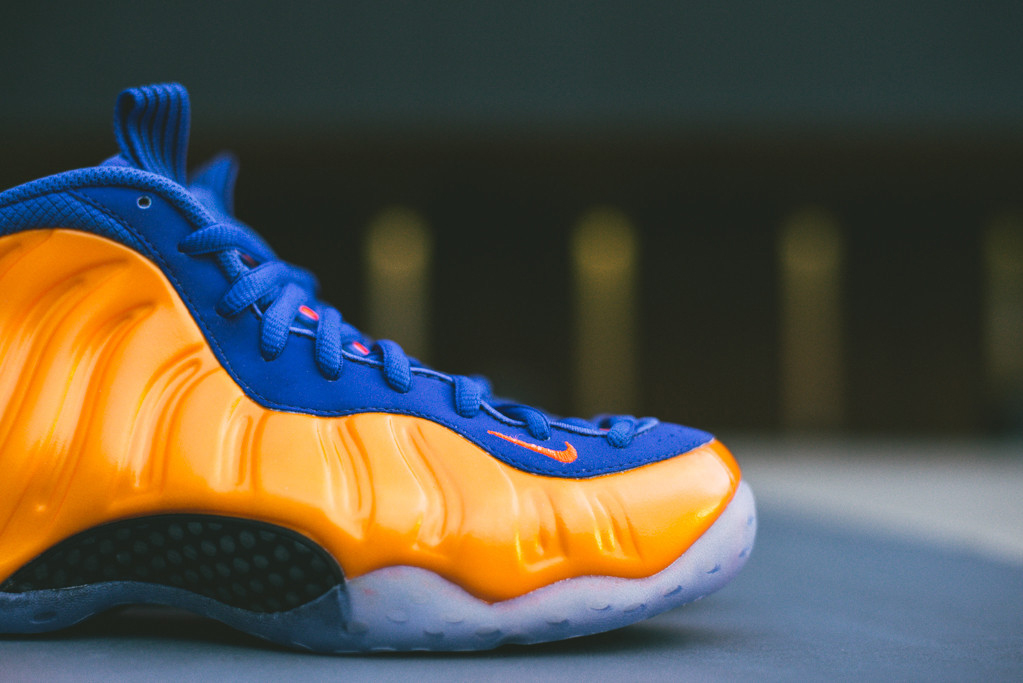 sale retailer ba622 1ab72 A Detailed Look at the  Knicks  Nike Air Foamposite One   Sole Collector
