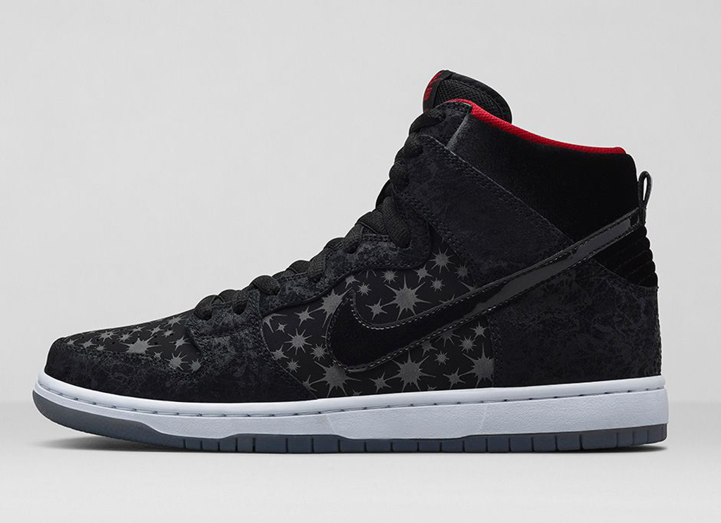 hot sale online d700b 9f118 The Brooklyn Projects  Paparazzi  Nike SB Dunk High Premium will hit nike.com  as well as select Nike SB retailers on Saturday August 9, in limited  fashion.