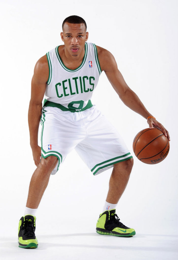 Avery Bradley wearing Nike Air Max Hyperposite Rondo PE