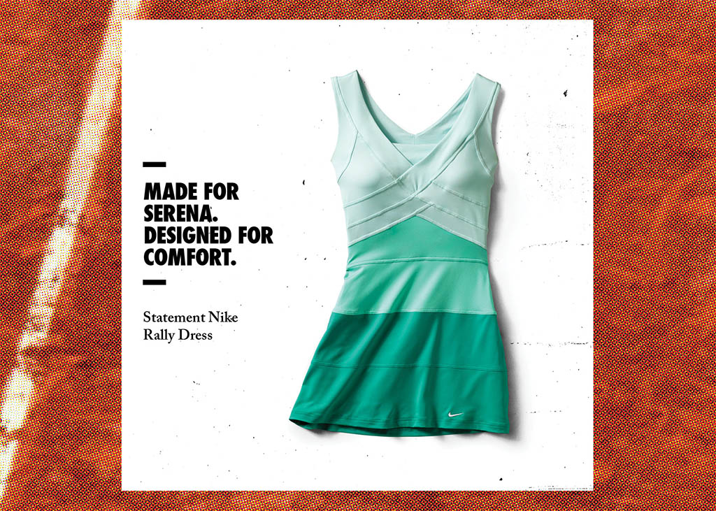 Nike Tennis 2012 French Open Collection for Serena Williams (2)