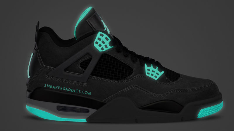 Air Jordan IV 4 Green Glow 308497-033 (2)