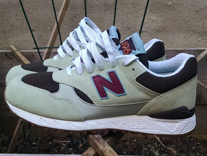 code promo 36dee 2a66c Urban Outfitters Remixes the New Balance 496 | Sole Collector