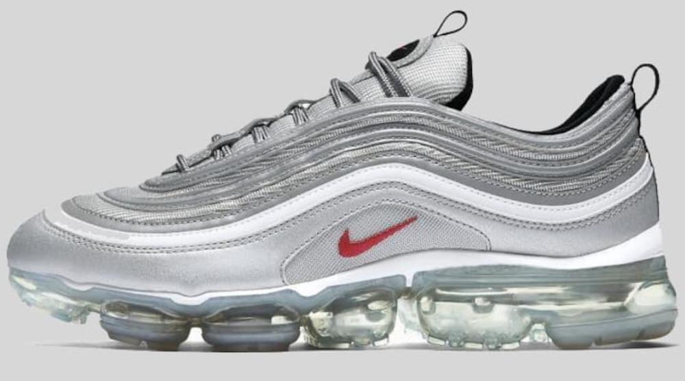 Nike Air VaporMax 97 Silver Bullet Release Date AJ7291-002   Sole ...
