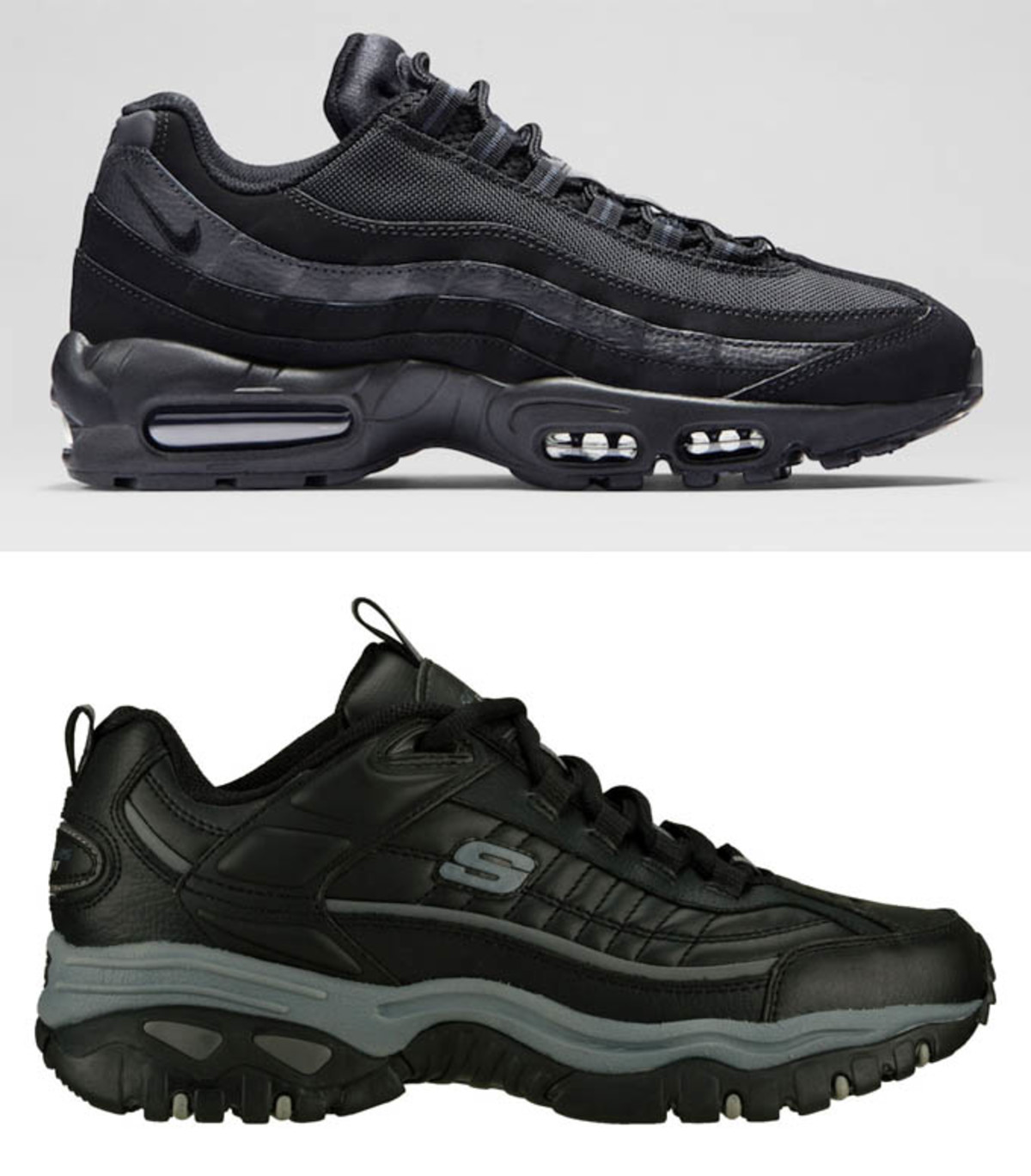 Nike Air Max 95 / Skechers Energy U2013 After Burn - Worst Fake Skechers | Sole Collector