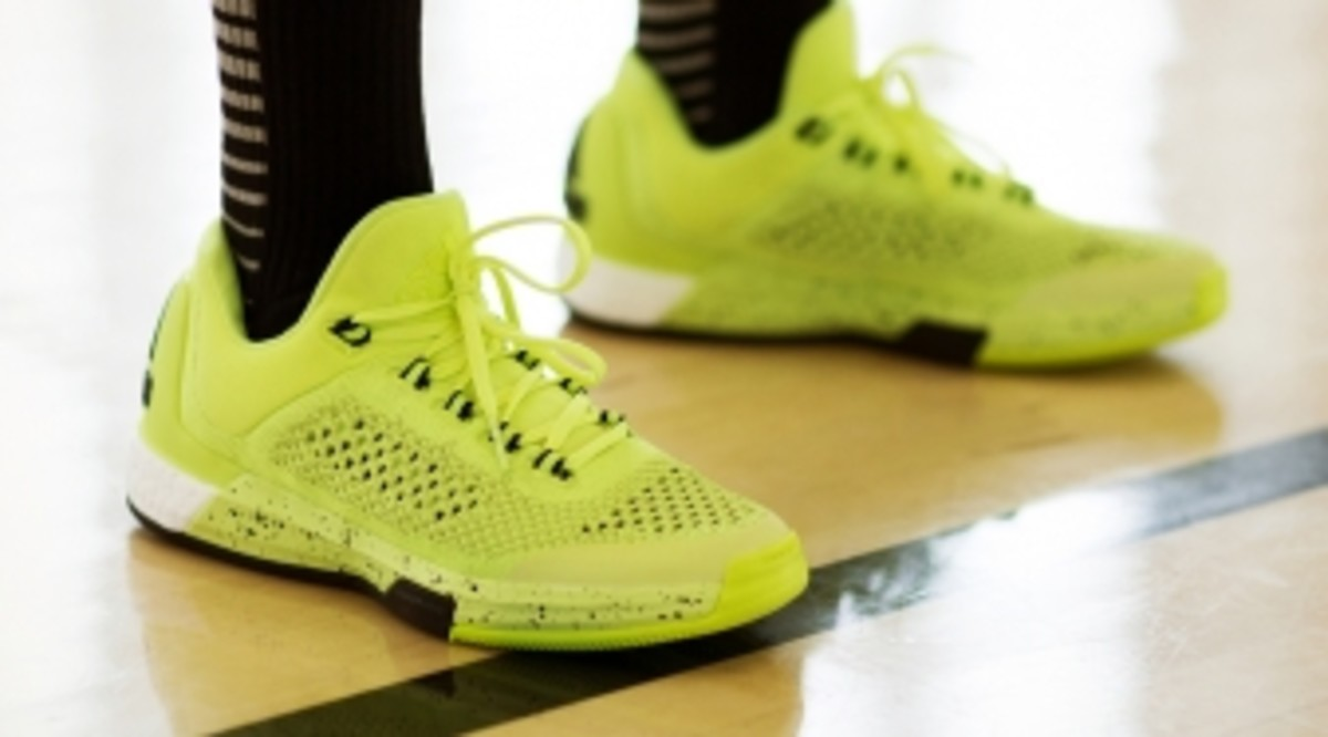 Neon Adidas Basketball Shoes