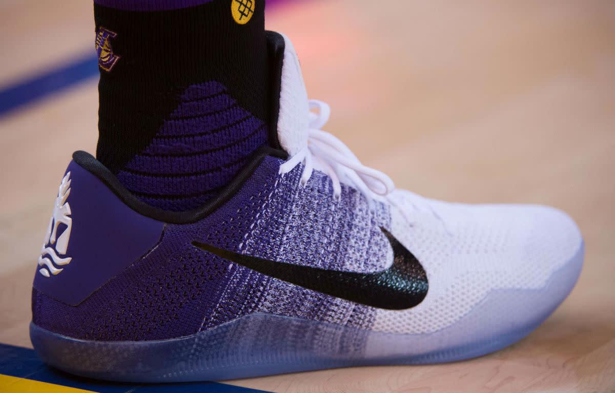 Nike Kobe 11 Purple/White-Black PE - Kobe Bryant's Nike
